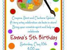 97 Customize Our Free Birthday Party Invitation Template Free Online in Word for Birthday Party Invitation Template Free Online
