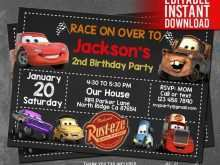 97 Customize Our Free Cars Birthday Invitation Template Free Download With Stunning Design for Cars Birthday Invitation Template Free Download