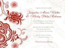 97 Free Printable Chinese Wedding Invitation Template Now for Chinese Wedding Invitation Template