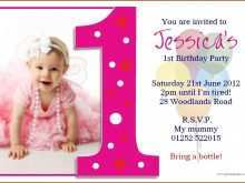 97 How To Create Birthday Invitation Template For Baby Boy in Word with Birthday Invitation Template For Baby Boy