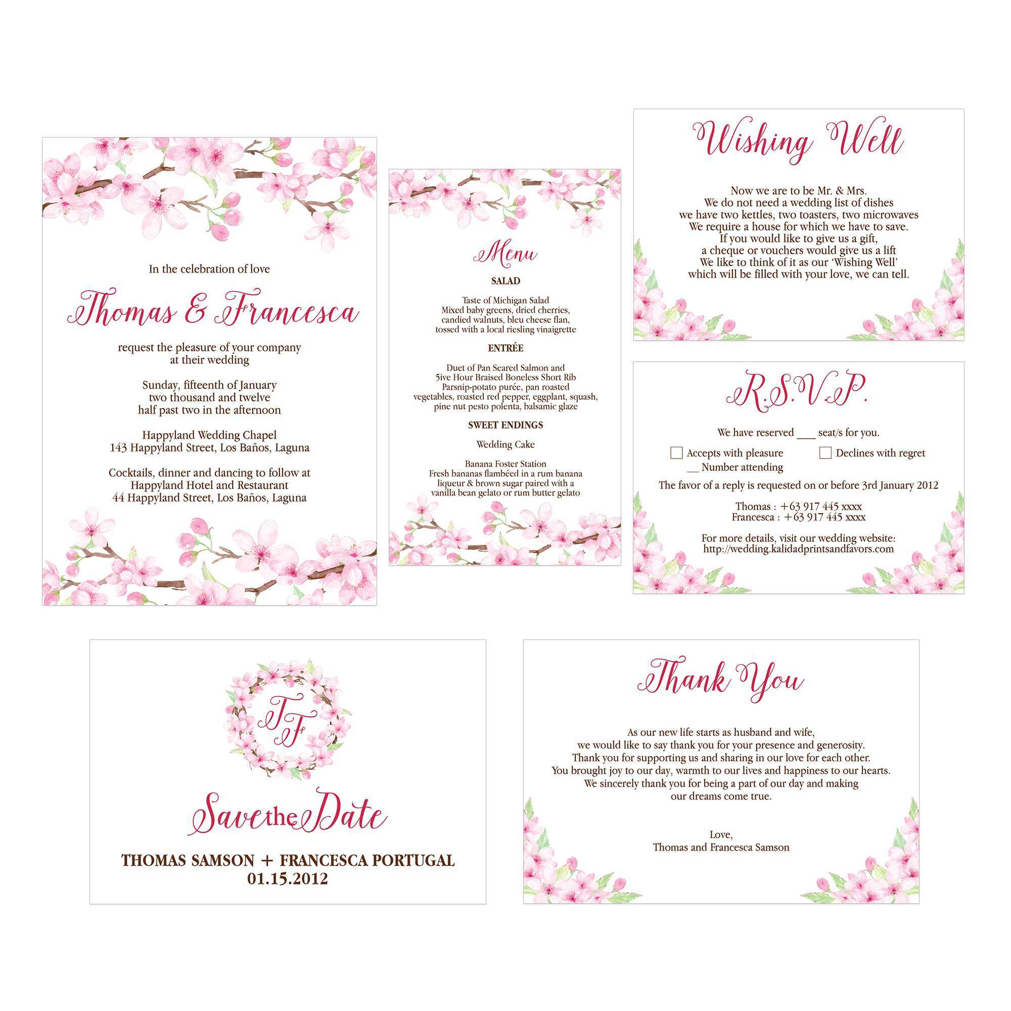 97 How To Create Cherry Blossom Wedding Invitation Template Templates by Cherry Blossom Wedding Invitation Template