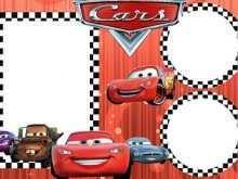 97 Online Cars Birthday Invitation Template Free in Word for Cars Birthday Invitation Template Free