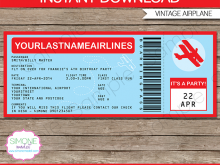 98 Blank Airplane Birthday Invitation Template Layouts for Airplane Birthday Invitation Template
