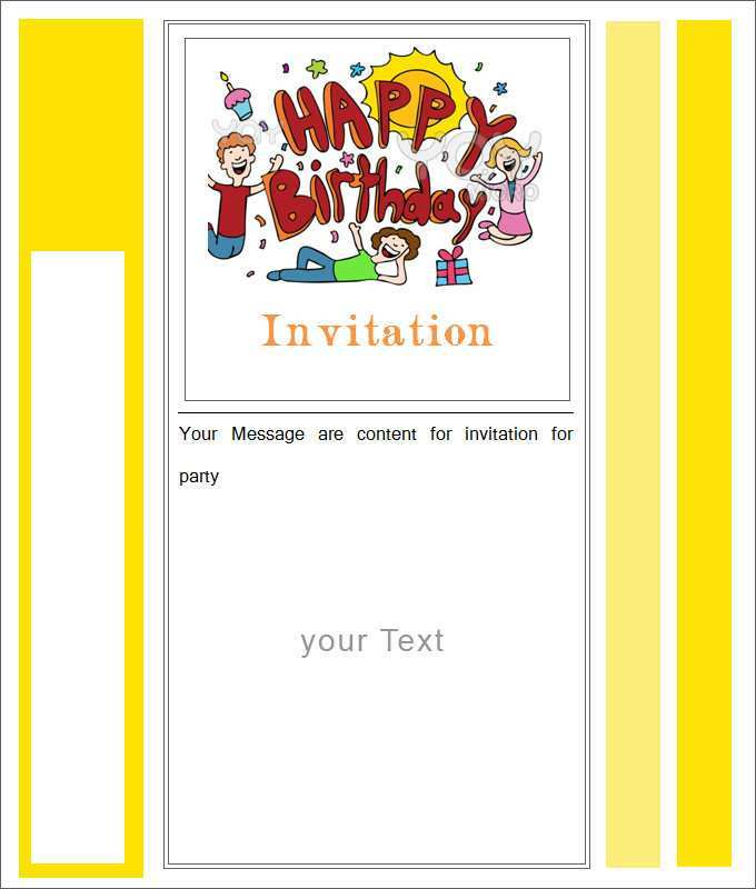 98 Blank Blank Invitation Card Designs Download with Blank Invitation Card Designs