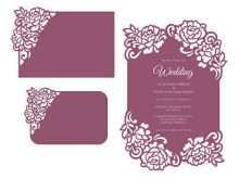 98 Blank Wedding Invitation Template Laser Cut for Ms Word for Wedding Invitation Template Laser Cut