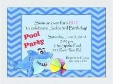98 Create Baby Shark Birthday Invitation Template Templates with Baby Shark Birthday Invitation Template