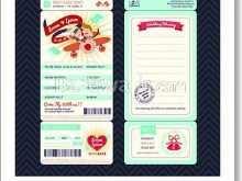 98 Create Boarding Pass Wedding Invitation Template Maker by Boarding Pass Wedding Invitation Template