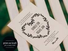 High Resolution Wedding Invitation Template