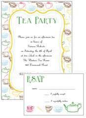 98 How To Create Afternoon Tea Invitation Template Blank Layouts with Afternoon Tea Invitation Template Blank