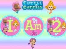 98 Online Bubble Guppies Blank Invitation Template Photo for Bubble Guppies Blank Invitation Template