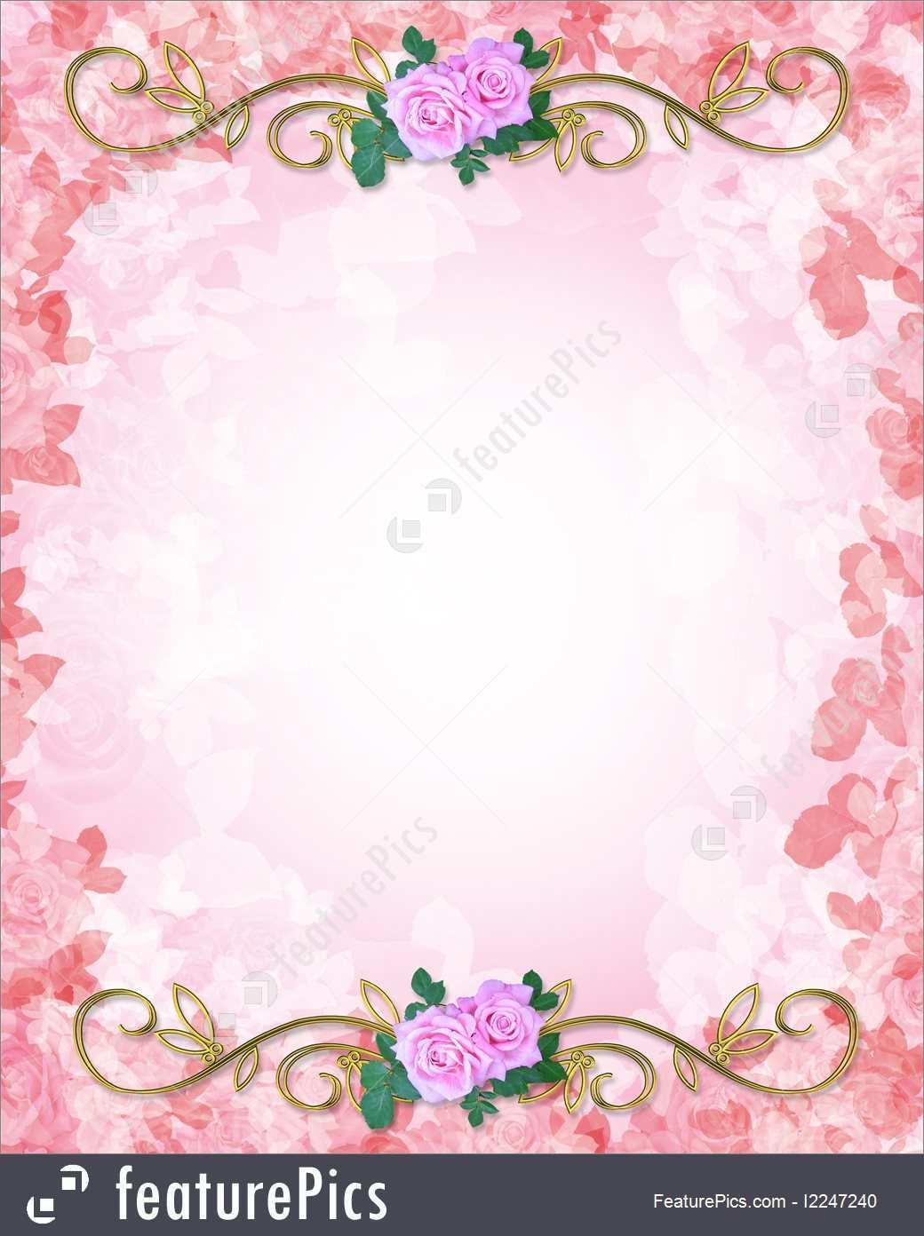98 Online Wedding Invitation Template Background Layouts by Wedding Invitation Template Background