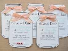 98 Printable Jar Wedding Invitation Template With Stunning Design for Jar Wedding Invitation Template