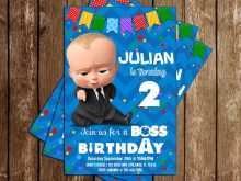 98 Report Boss Baby Birthday Invitation Template Layouts for Boss Baby Birthday Invitation Template