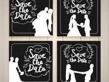 99 Create Black And White Wedding Invitation Template for Ms Word by Black And White Wedding Invitation Template