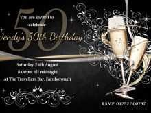 99 Creating 50Th Birthday Invitation Template Vector Download with 50Th Birthday Invitation Template Vector