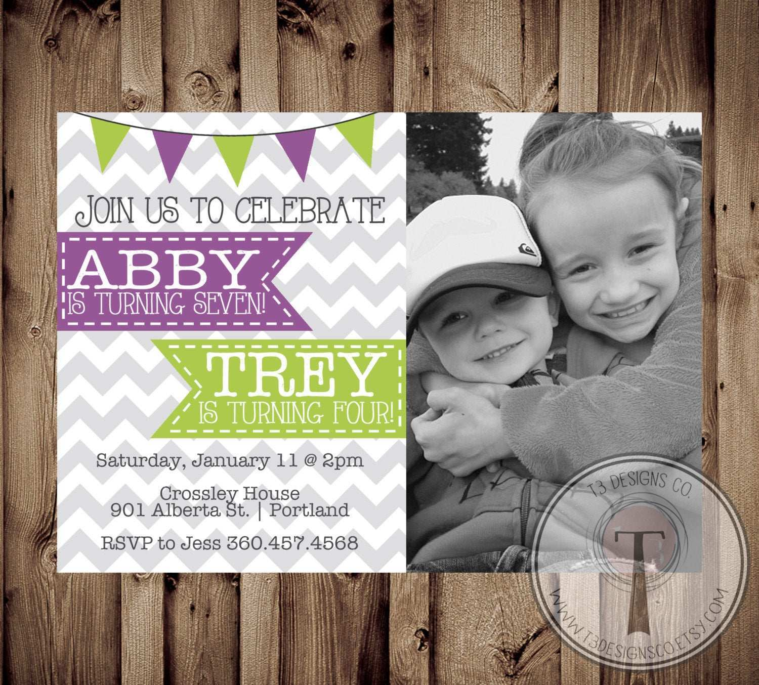 99 Free Printable Joint Birthday Party Invitation Template Now for Joint Birthday Party Invitation Template