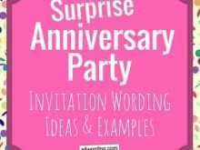 99 How To Create Anniversary Party Invitation Template in Word for Anniversary Party Invitation Template