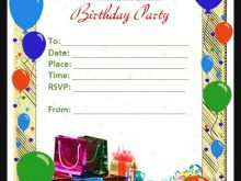 99 How To Create Birthday Party Invitation Template In Word With Stunning Design by Birthday Party Invitation Template In Word