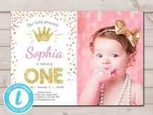 99 Online One Year Birthday Invitation Template in Photoshop for One Year Birthday Invitation Template