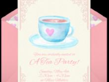 99 Printable Royal Tea Party Invitation Template Now with Royal Tea Party Invitation Template