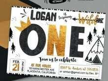 99 Visiting Birthday Invitation Templates Wild One Formating for Birthday Invitation Templates Wild One