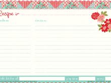 34 Format Preschool Cookie Recipe Card Template Download for Preschool Cookie Recipe Card Template