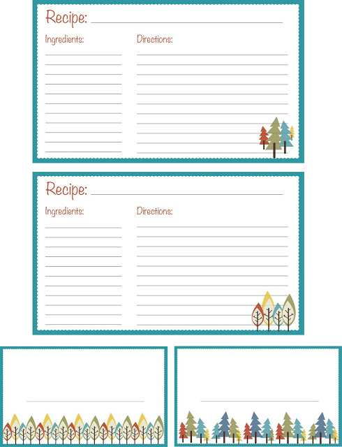 38 Best Preschool Cookie Recipe Card Template in Photoshop by Preschool Cookie Recipe Card Template