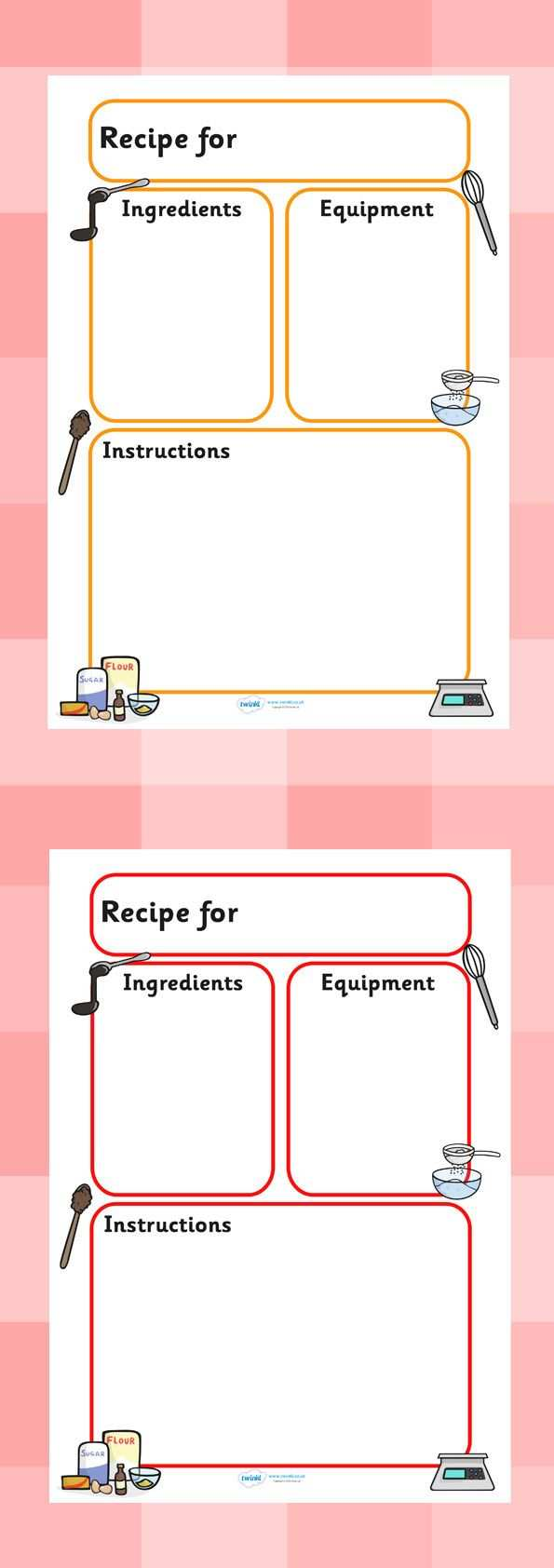 55 Free Preschool Cookie Recipe Card Template for Ms Word for Preschool Cookie Recipe Card Template