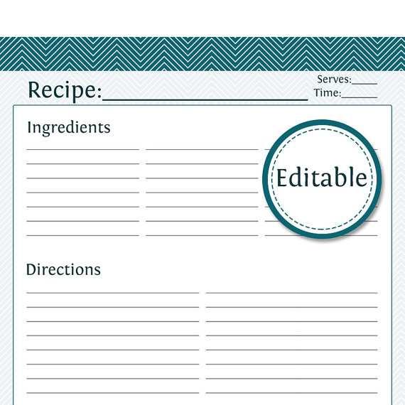 65 Create Preschool Cookie Recipe Card Template Maker with Preschool Cookie Recipe Card Template