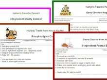 66 Standard Preschool Cookie Recipe Card Template for Ms Word by Preschool Cookie Recipe Card Template