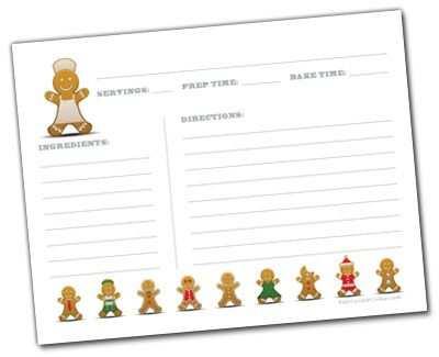70 Format Preschool Cookie Recipe Card Template Photo for Preschool Cookie Recipe Card Template