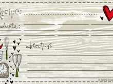 74 Customize Preschool Cookie Recipe Card Template Layouts by Preschool Cookie Recipe Card Template