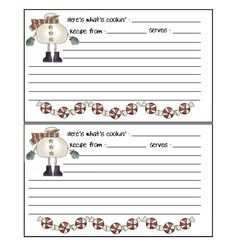 83 Printable Preschool Cookie Recipe Card Template Maker with Preschool Cookie Recipe Card Template